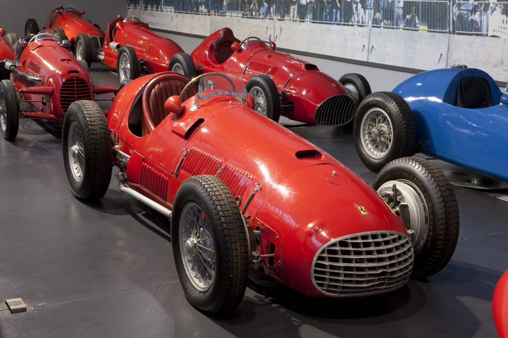 Enzo ferrari first car